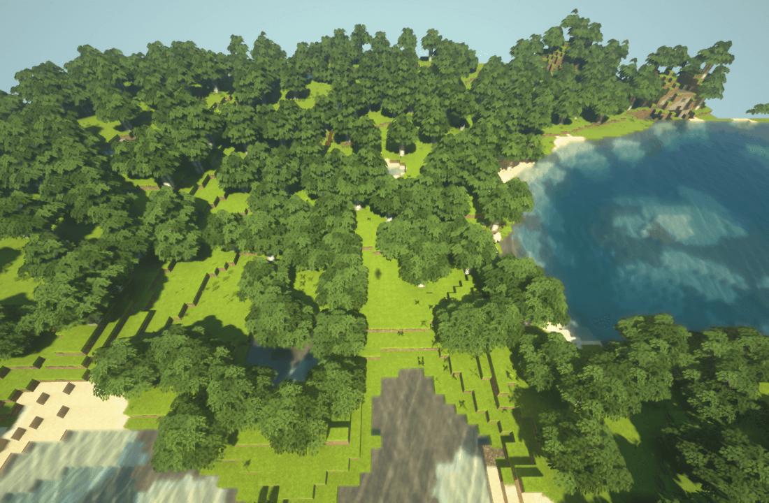 Minecraftで街作り-ROフィゲル建築日記1
