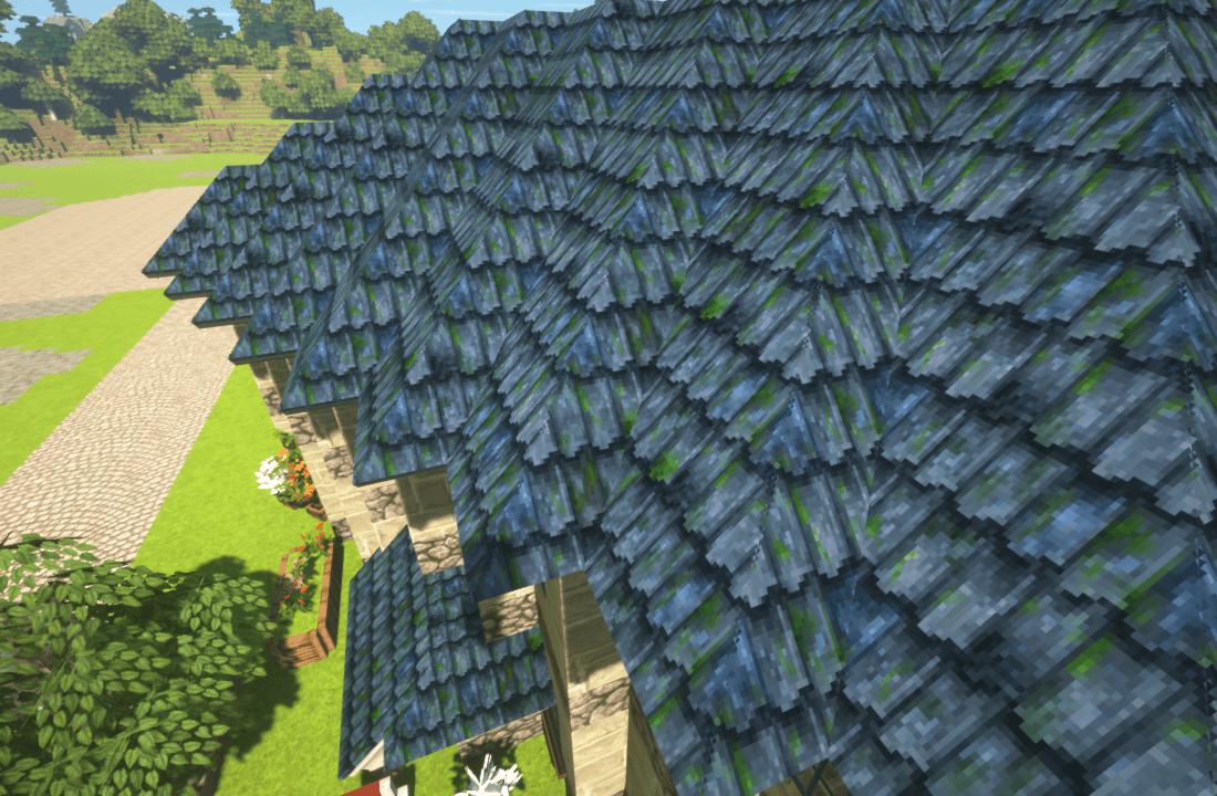 Minecraftで街作り-ROフィゲル建築日記3