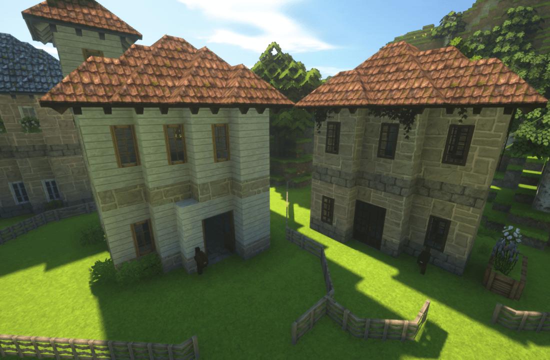 Minecraftで斜め建築をする時に便利なテンプレート
