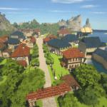 【完成】Minecraftで街作り-ROフィゲル建築日記7