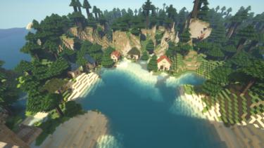【完成】Minecraftで街作り-入り江の街建築日記6