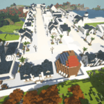 Minecraftで街作り-ROアルベルタ建築日記4