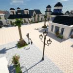 Minecraftで街作り-ROアルベルタ建築日記5