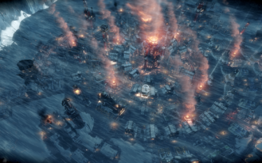 過酷な極寒の地で生き延びる方法を模索するゲーム『Frostpunk』