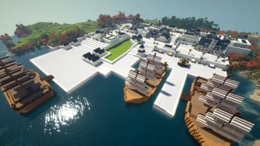 Minecraftで街作り-ROアルベルタ建築日記6